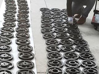 青岛客户的SPA型皮带轮发货