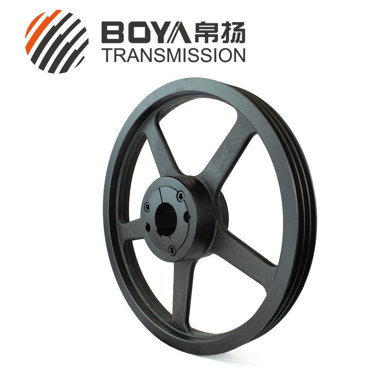 SPZ500-03通风机3槽皮带轮认准帛扬三角皮带轮铸造厂
