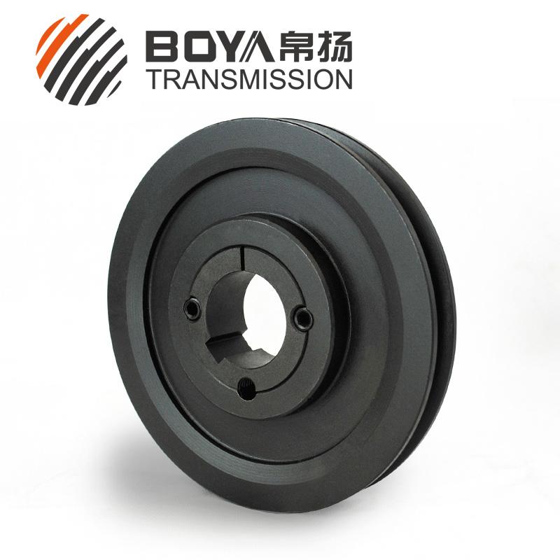 SPZ160-01铁矿设备1槽皮带轮选帛扬传动轮制造商