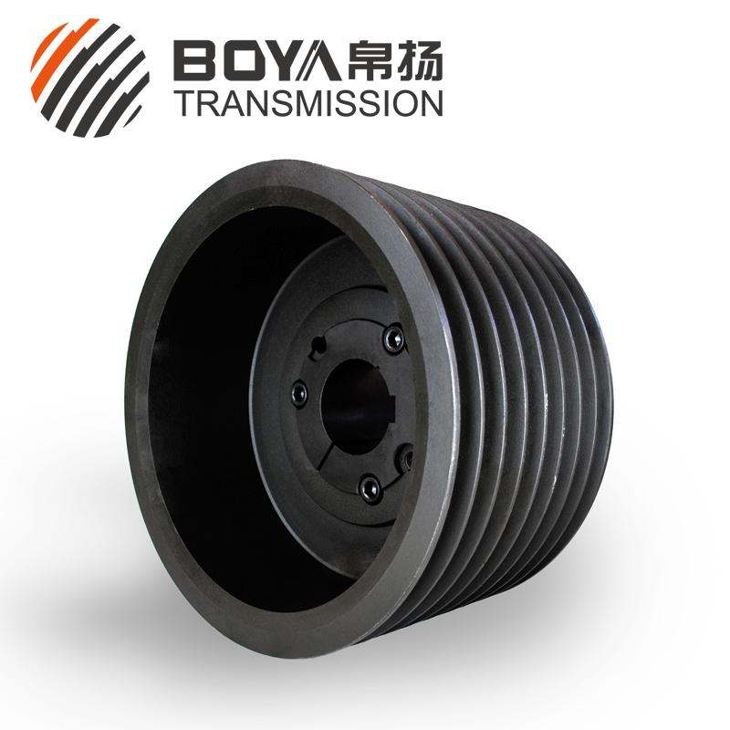 采购SPZ280-08电机皮带轮。帛扬承接各类铝皮带轮定制。